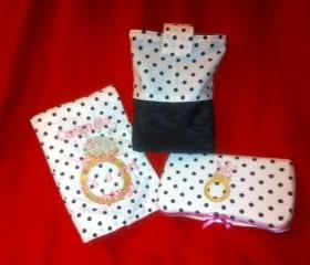 Cuteness and Bling is a GIRL thing Diaper Pouch