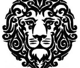 Lion Machine Embroidery pattern